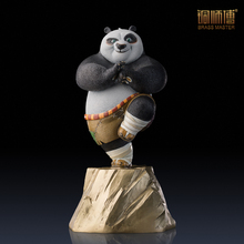 Movie Character Chinese Brass Copper Kung Fu Panda Figurine Furnishing Articles Free Shipping
