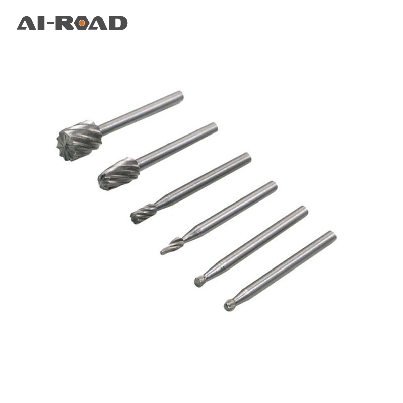 10pcs Dremel Rotary Tools Hss Mini Drill Bit Set Cutting Routing Router Grinding Bits Milling Cutters For Wood Carving Cut Tools Various Styles Tools