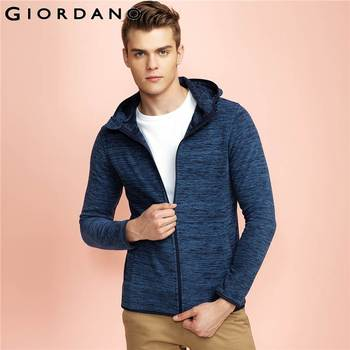 Giordano homens outerwear jaqueta com capuz marca clothing polar jaqueta de mangas compridas jaqueta masculina primavera jaqueta dos homens
