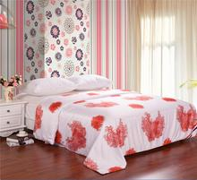 Hot sale 100% Silk comforter/quilt/Blanket/Duvet,for Spring&Summer Home King/Full/Queen double bed Size(China)