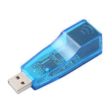USB 2.0 To LAN RJ45 Ethernet Network Card Adapter USB to RJ45 Ethernet Converter For Win7 Win8 Tablet PC Laptop