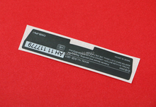 Replacement For Nintendo Game boy Label Sticker For GameBoy GBA Console Back Tag 10pcs/lot