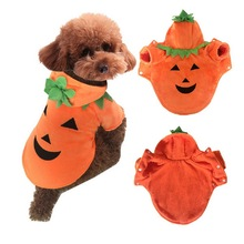 Fashion Pumpkin Pet Dogs Clothes Dog Warm Coats Winter Jacket For Big Dogs Halloween Costume Large Pet Clothing XS-5XL