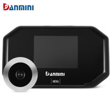 Danmini 3 inch Video Intercom Door Bell Video Door Phone Home Video intercom wired video doorbell Hidden Door Peephole Viewer(China)
