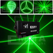 Pro 1000mW /  1W green Laser Diode DMX512 ILDA Laser with sd card