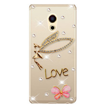 Buy luxury Bling rhinestone crystal mobile phone case cover meizu MX4 MX5 MX6 pro 5 6 meilan U10 U20 max meilan 5 M5 3 3S M3 M1 for $4.99 in AliExpress store