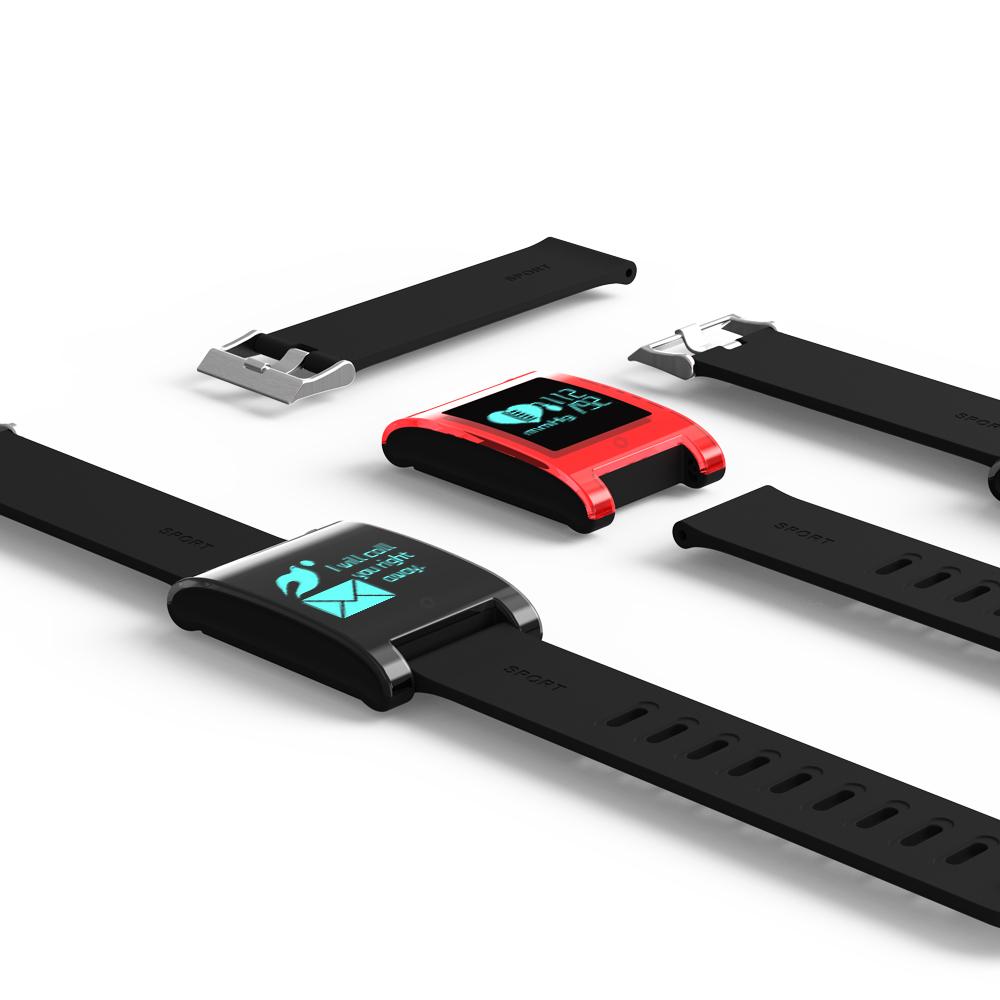FREZEN Smart Bracelet DM68 Smart Band Fitness Sleep Activity Tracker Blood Pressure Oxygen Heart Rate Tracker For Android IOS 23