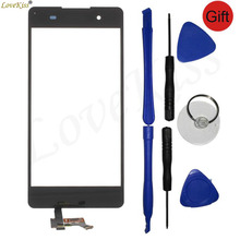 Buy Sony E5 Touch Screen Sensor Sony Xperia E5 F3311 F3313 Touchscreen LCD Display Digitizer Front Panel Glass Replacement for $6.82 in AliExpress store