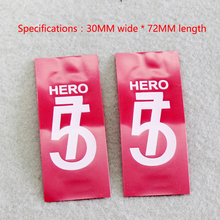 A section of 18650 lithium battery outer shell PVC heat shrinkable sleeve shrink film insulation cushion sleeve capacity standar