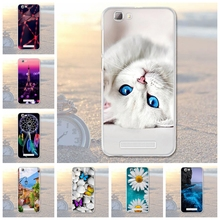 Soft Silicon Cell Phone Cases For ZTE Blade A610 V6 Max BA610 BA610T BA610C A 610 5.0 inch Cases Cover Flower Shell Skin Housing