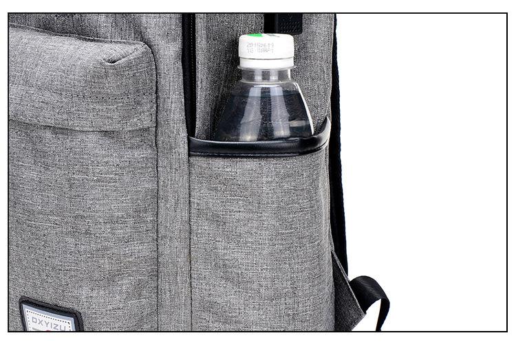 حقيبة مدرسية سوداء USB 17