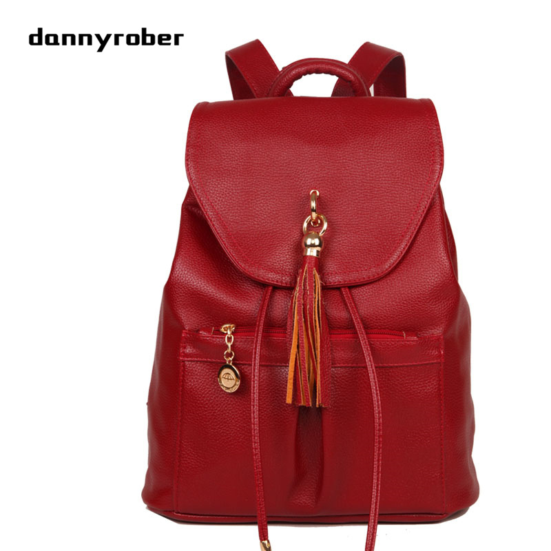 2017 PU Leather Backpack Women Backpacks For Teenage Girls Drawstring Bags Vintage Backpack Mochila Escolar Mujer Schools Bags<br>