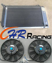 aluminum radiator & fan*2 for 1970-1981 Pontiac Firebird Trans Am brand new(China)