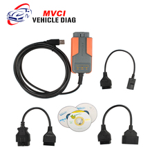 2016 Hot Sale Code Scanner MVCI For Toyot MVCI for TOYOTA TIS for Volvo/Honda/ Toyota MVCI Car Diagnostic Scanner Free Shipping(China)