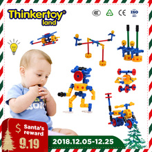 Christmas Gift 284 PCS Kids Boy Toys Planes Tank Building Blocks Children Safe Intelligence Development Boy Toddler Toys