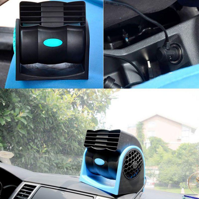 New 360° Bladeless Fan in Car Vehicle Portable Adjustable Silent Air Cooler 12V