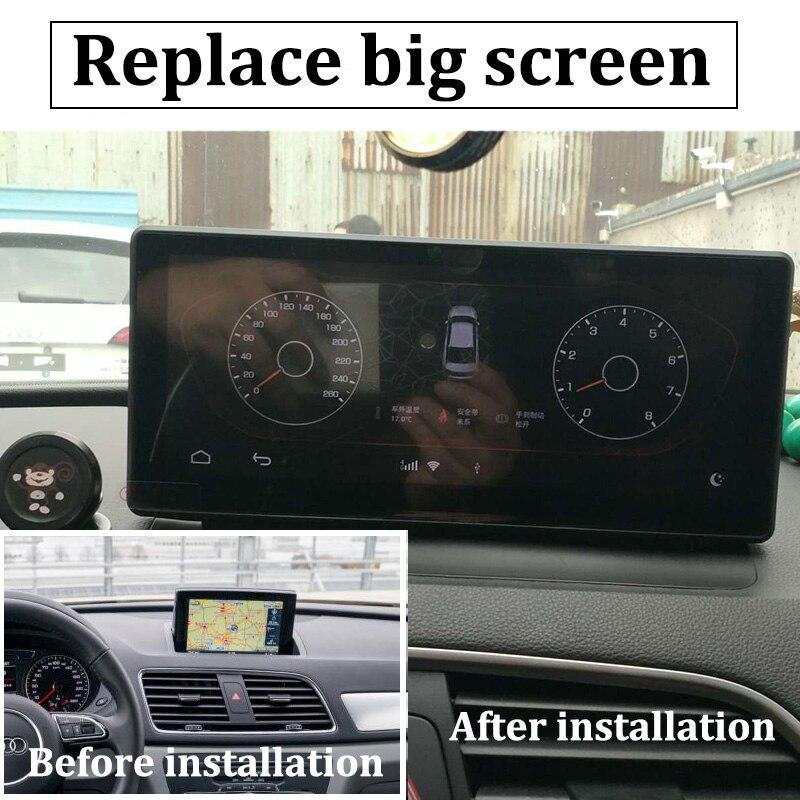 Liislee Car Multimedia Player NAVI 10.25 inch For Audi Q3 8U 2011~2018 Riginal Car MMI Style Radio Stereo GPS Navigation (9)