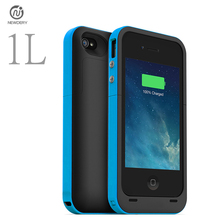 NEWDERY 1L RU/USA Ship 2000mAh External power bank pack Mobile Charger Backup Battery protect Case For iphone4 4s with USB cable(China)