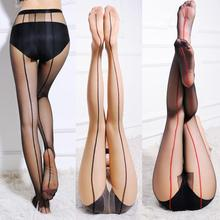 Buy Fancinating Sexy Women's Sheer Pantyhose Silk Stockings Tights New Arrival High Quality Enchanting Women Breathable Sokken Sox