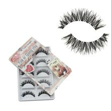 5 Pair/Lot Crisscross False Eyelashes 100% Handmade 3D Mink Eyelashes Beauty Thick Long False Mink Lashes Fake Eye Lashes(China)