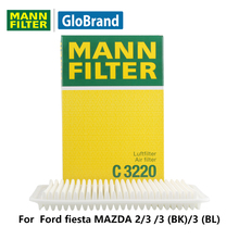 MANNFILTER  car air Filter C3220 for  Ford fiesta MAZDA 2/3 /3 (BK)/3 (BL) auto  parts