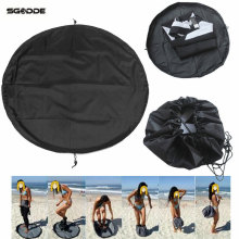 Water Sports Surfing Wetsuit Diving Suit Change Bag Mat Waterproof Nylon Carry Pack Pouch for Water Sports Swimming Accessories