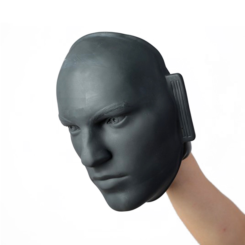 Rubber Human Facial Boxing training tools For mma training