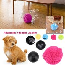 Plush Auto Rolling Ball Mop Floor Sweeping Robots Vacuum Cleaner Home Room(China)