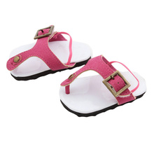 american girl doll clothes sandals 18 inch doll clothes baby born clothes 43cm Bjd Doll Shoes Zapf Dolls Accessories antistress