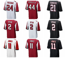 Men's atlanta Julio Jones Devonta Freeman Matt Ryan falcons jerseys(China)