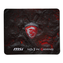 Anti-slip Stitched Edge Durable MSI Logo Gaming Mouse Pads Computer Game Rubber Mousemat For Gamer Play Mats