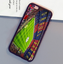 Barcelona Spain Estadio Camp Nou Soft TPU Skin Cell Phone Case For iPhone 6 6S Plus 7 7 Plus 5 5S 5C SE 4S Back Shell Case Cover