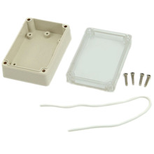 1 pc Waterproof Cover Clear Plastic Electronic Project Box Enclosure CASE New VEC29 P(China)