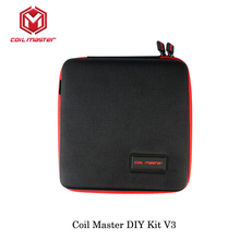 original E Cigarette Accessories Coil Master Diy kit V3 Tool bag All-in-one Vape device rebuild RDA RDTA RTA Tank Atomizer 2017(China)