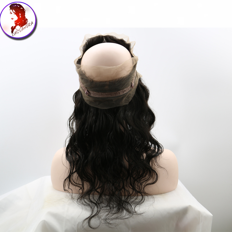 Fashion 360 Lace Frontal Closure Big Wavy Human Hair Body Wave With Baby Hair For Black Women Peruvian Virgin Hair <br><br>Aliexpress