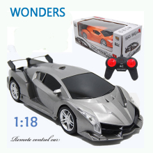 New arrival! Super Racing Car Rc Speed Radio Remote Control Sports Car 1:18 Motor Xmas Gift Kid toy(China)