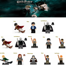 Single Harry Potter Hermione Ron Lord Voldemort Draco Malfoy Building Blocks Sets Models Toys For Children