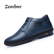 Buy ZENVBNV 2017 Genuine Leather Casual Shoes Men Winter&autumn Fashion England Handmade Round Toe Lace-up Men Flats Leisure Shoes for $25.23 in AliExpress store