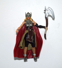 "Marvel Universe Jane Thor With Axe Weapon 3.75"" Loose Action Figure"