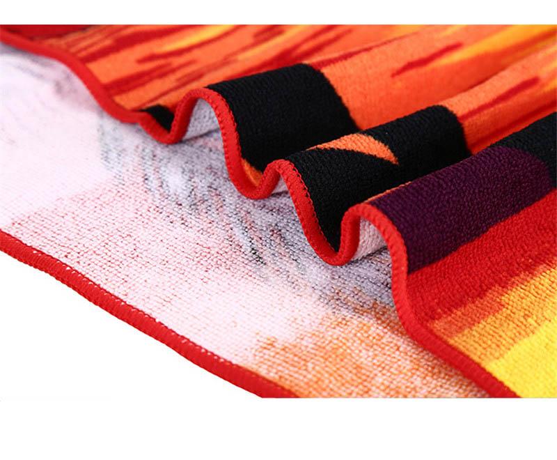 Micro Fiber Printed Beach Towel 140*70cm 31