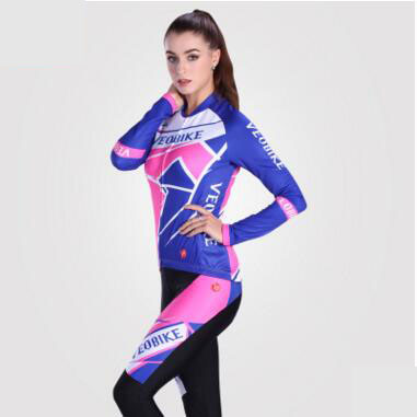 Ladies Jersey long sleeve  spring/summer and autumn Lady long sleeve mountain bike Jersey trousers<br><br>Aliexpress