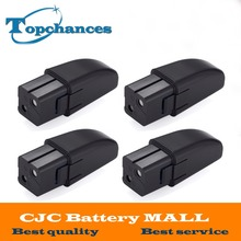 4PCS High Quality Newest 7.2V Full 2000mAh NI-MH Vacuum Battery For Ontel Swivel Sweeper G1 & G2; Compare to Part # RU-RBG