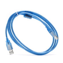 1 PC 1.5M High Speed USB 2.0 A to B Male M/M Data Transfer Printer Cable Cord Scanner