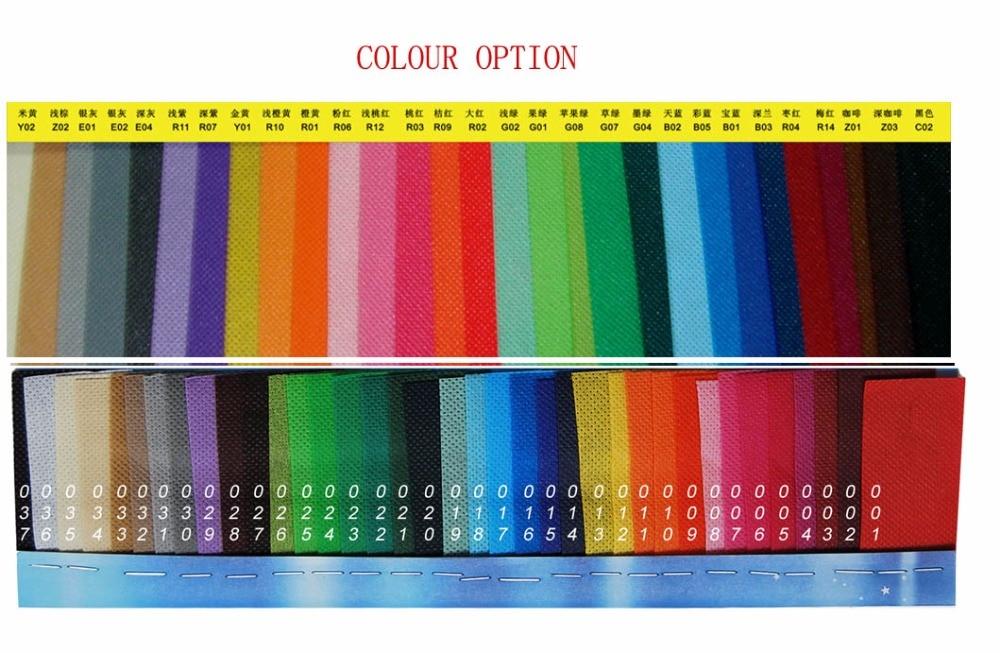 non-woven kleuroptie