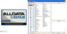 alldata auto repair software 2014 Alldata 10.53 (576GB)+2013 Mitchell(108GB)+auto0000data in one 750G HDD free shipping(China)