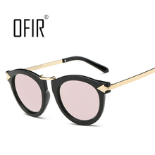OFIR Trend Retro Sunglasses Cat Eye Summer Style Women Men Sun Glasses High Qualith China Famous Brand Sunglasses gafas WW-05