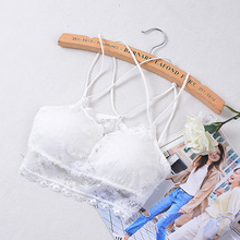 Bras For Women Sexy  Strappy Bra Lace Brassiere Bra Bralette Padded Underwear Women Full Cup