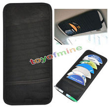 Hot 12 Disc Car DVD VCD DJ Storage Leather Wallet Album Bag Hard Box Double side Black DVD storage case 30x14.5CM(China)