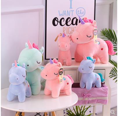 Baby Boy Kids Animal Plush Soft Toys Doll Room Bed Decor Birthday Gift 6A