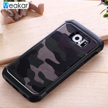 Camouflage Military Phone Case 5.1For Samsung Galaxy S6 Case For Samsung Galaxy S6 G9200 G920 Cell Phone Back Cover Case